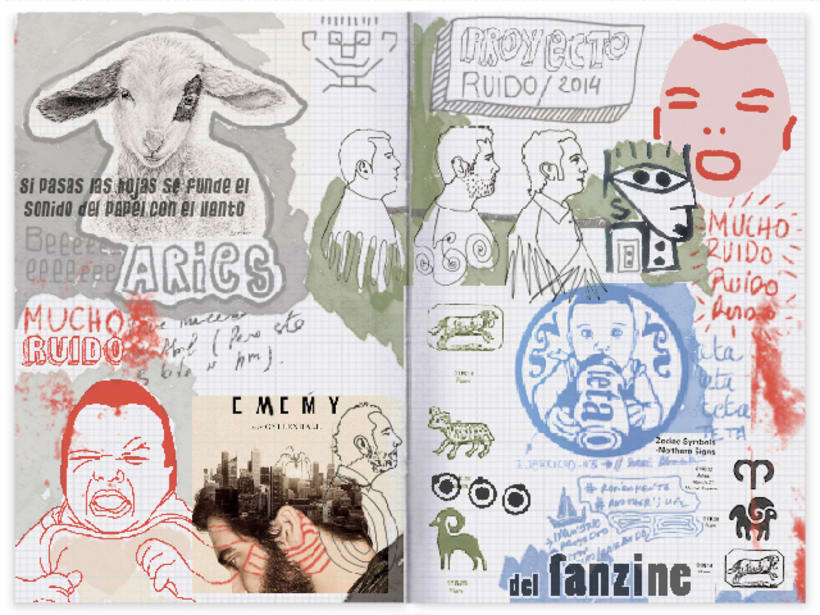 ElRuido Fanzine  2