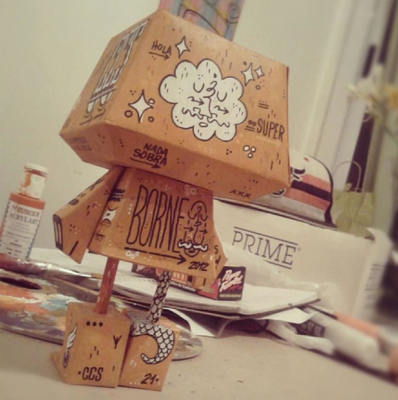 Paper Toy 1