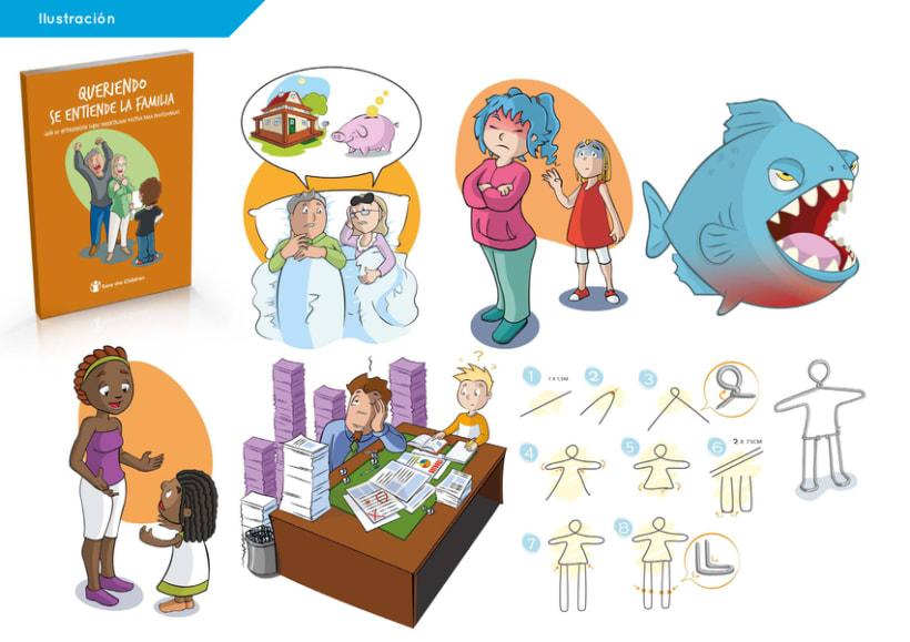Ilustración para guías educativas 0