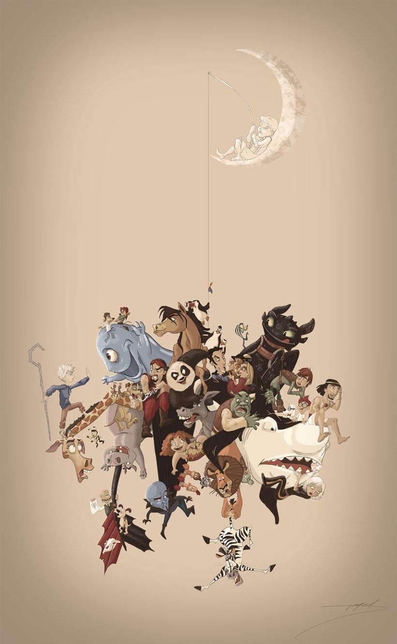Dreamworks Animation 20th anniversary -1