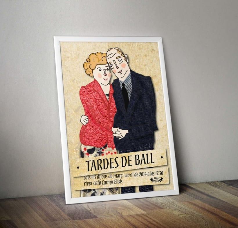 Propuesta cartel: TARDES DE BALL -1