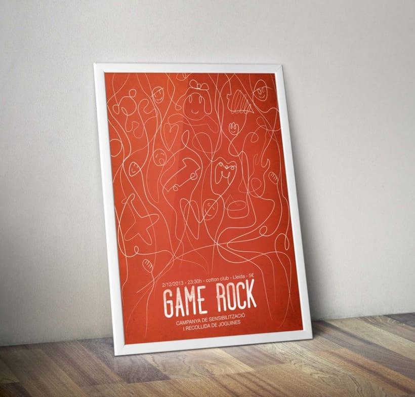 Propuesta cartel: GAME ROCK 2013 -1