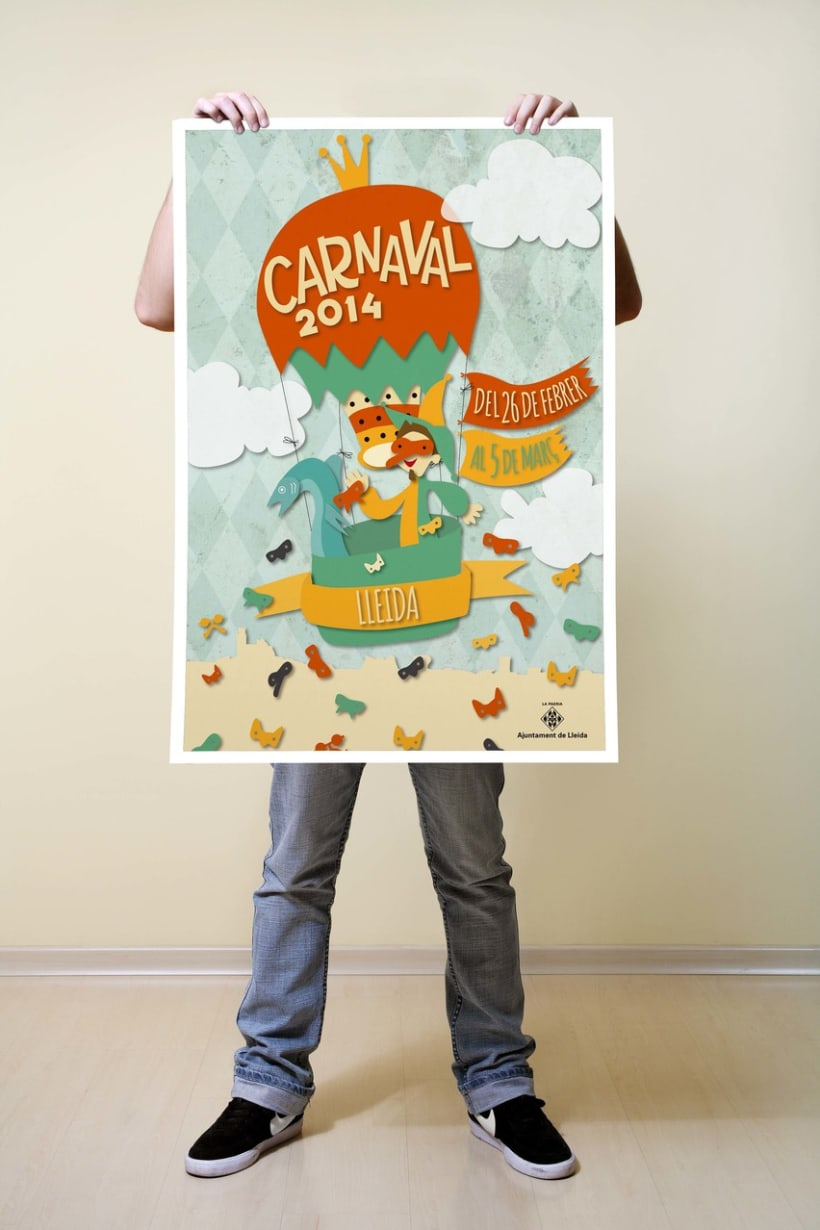 Propuesta cartel: CARNAVAL LLEIDA 2014 -1