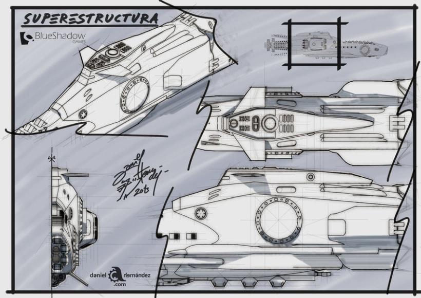 Submarino para vídeo juego 1