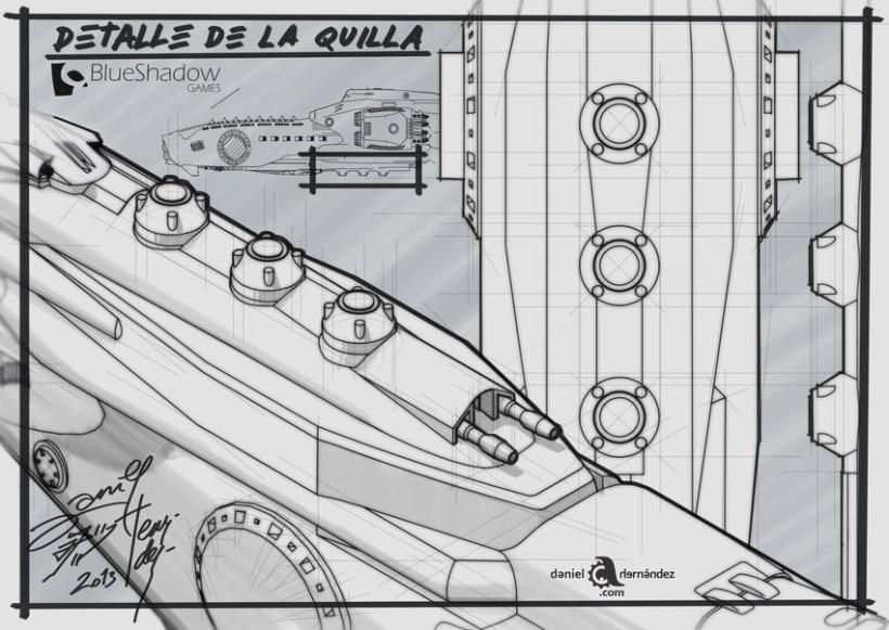Submarino para vídeo juego 2