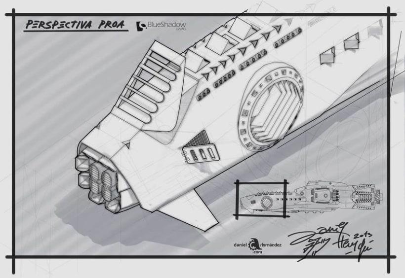 Submarino para vídeo juego 6