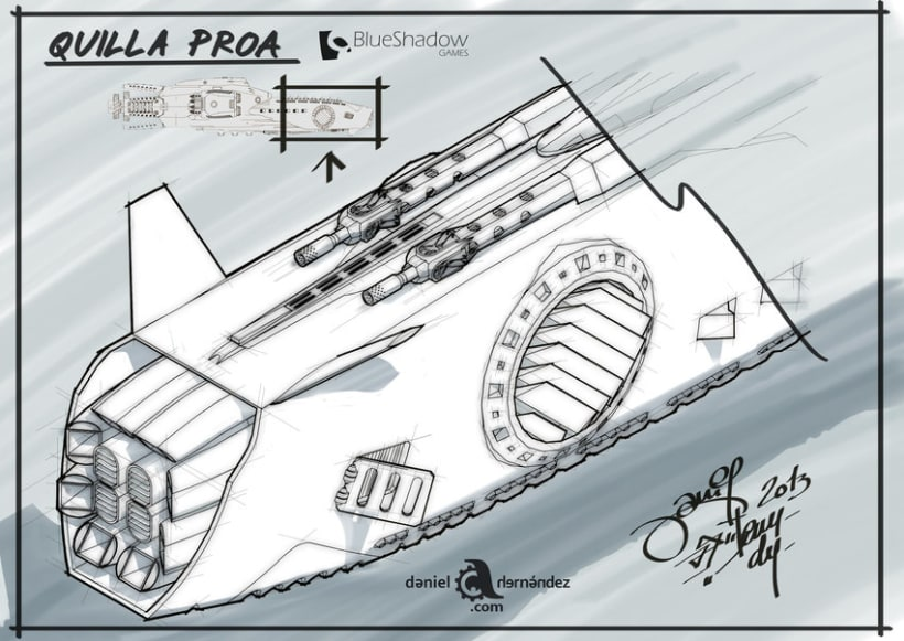 Submarino para vídeo juego 7