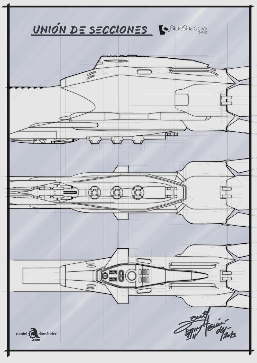 Submarino para vídeo juego 9