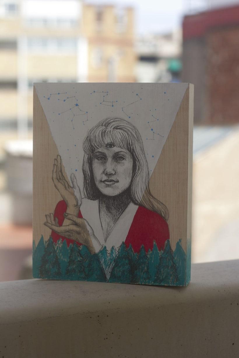 Dibujando a Laura Palmer 2