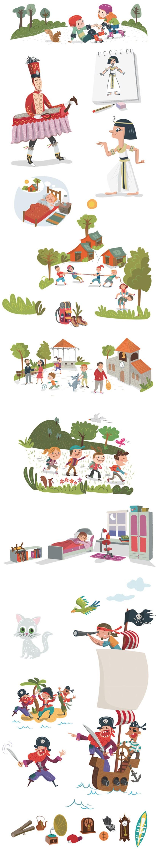 Ilustraciones para libro de texto 0