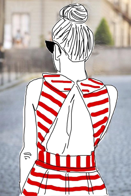 Ilustración realizada para un concursos de Oysho #oyshogallerymad -1