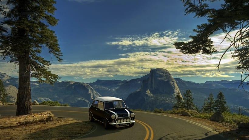 Austin Mini Cooper 1963 (Blender 3D) 2
