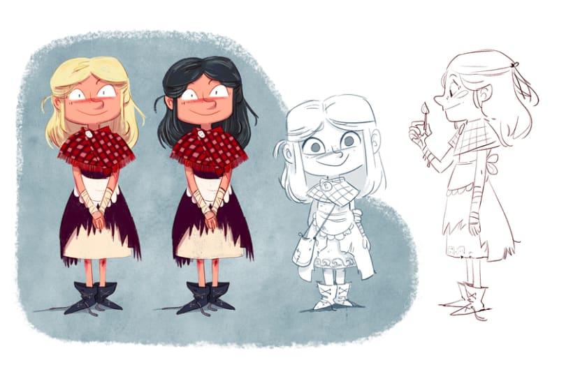 Character designs (II) 3