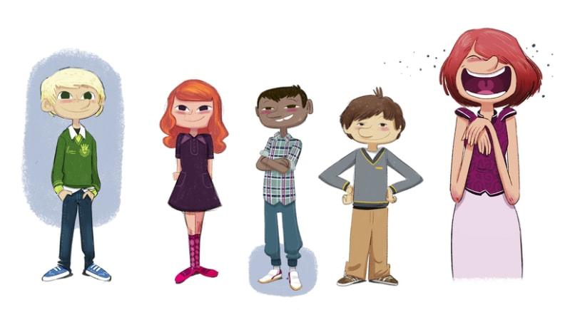 Character designs (II) 4