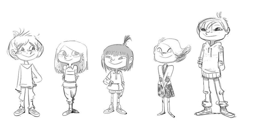 Character designs (II) 7