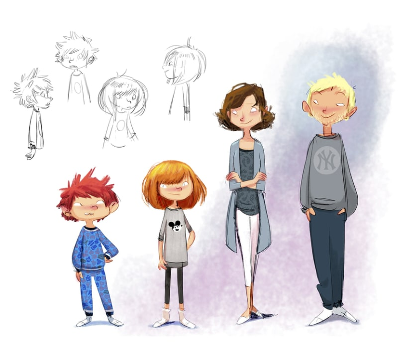 Character designs (II) 8