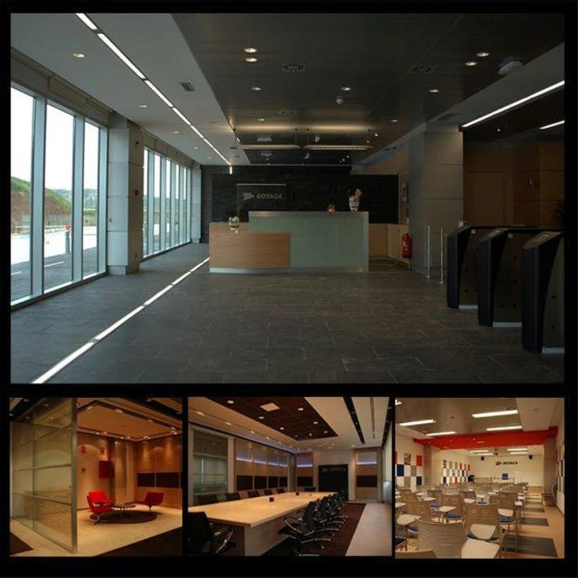 Interiorismo oficinas | Domestika