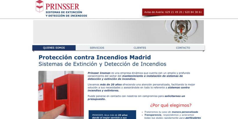 Extintores, detección y protección contra incendios PRINSSER 0