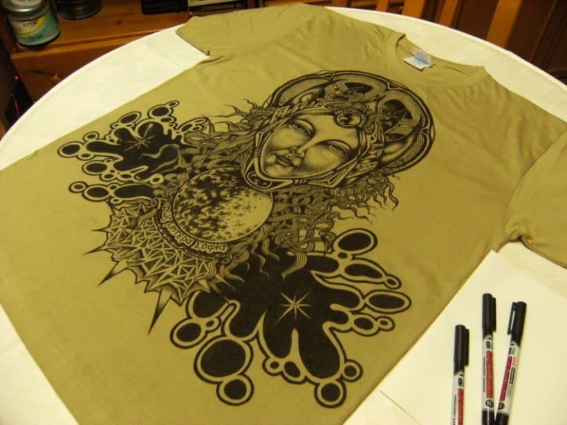 Pintando camisetas 1