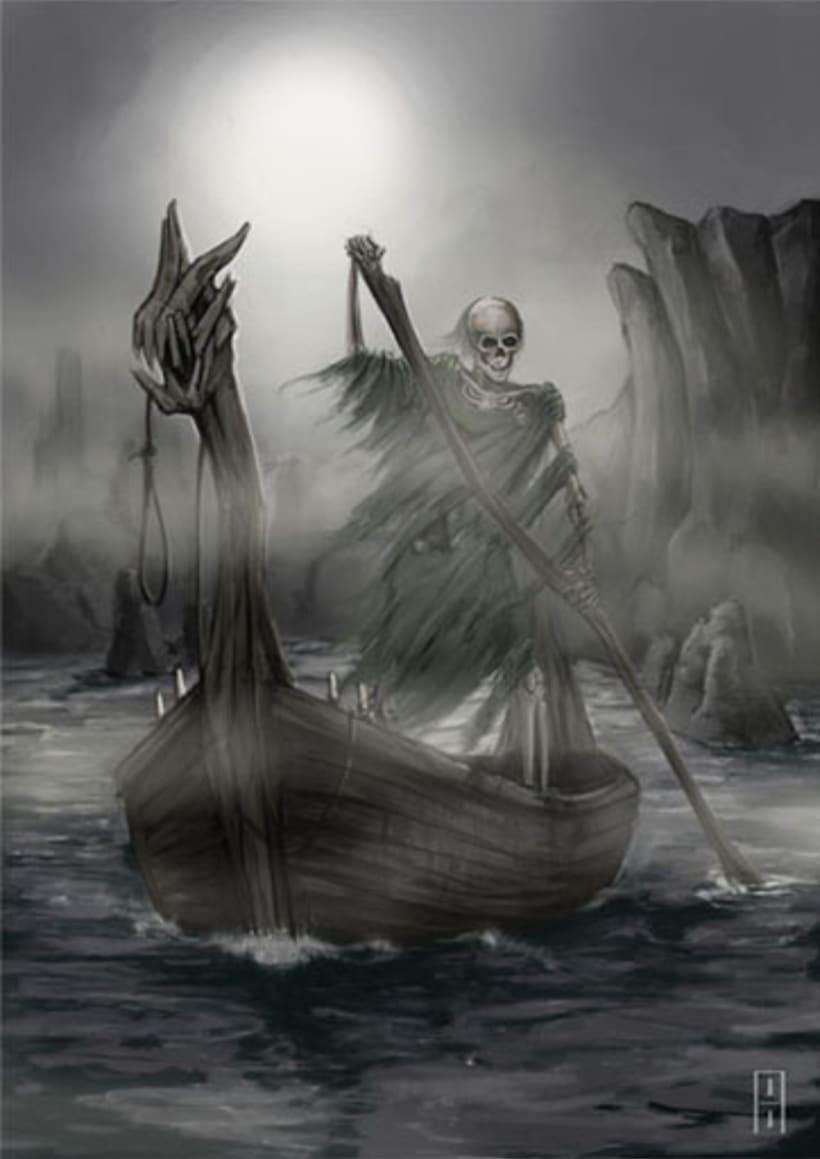 Caronte el barquero -1