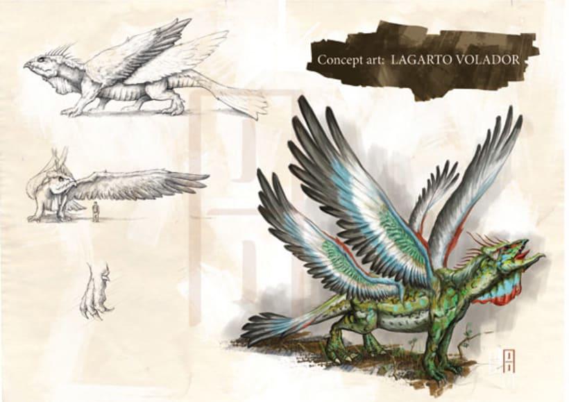 Concept de criaturas 0