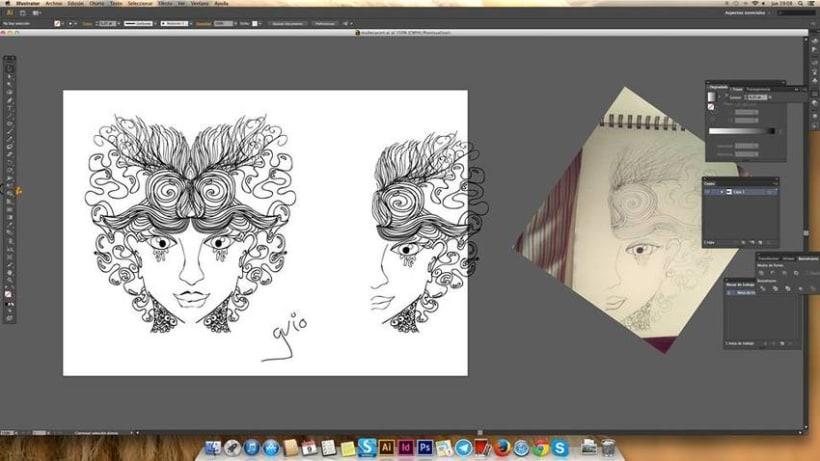 Concepto: La Simetría en la ilustración. -1