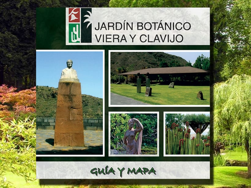 Folleto del jard n bot nico canario viera y clavijo 25 p g domestika - Jardin botanico canario ...