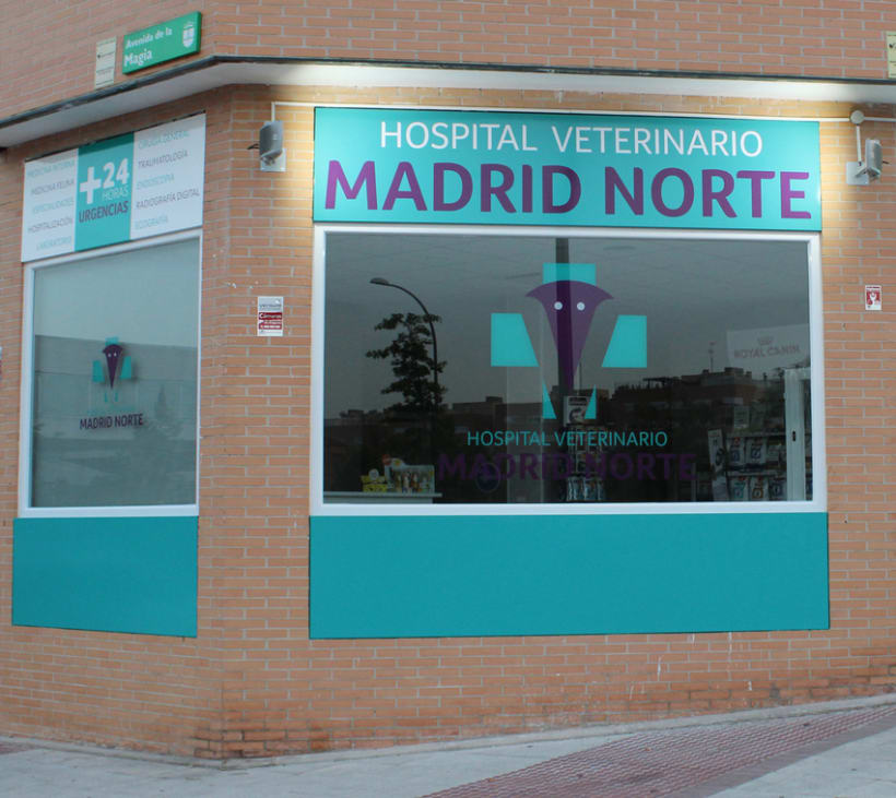 Hospital Veterinario Madrid Norte 0