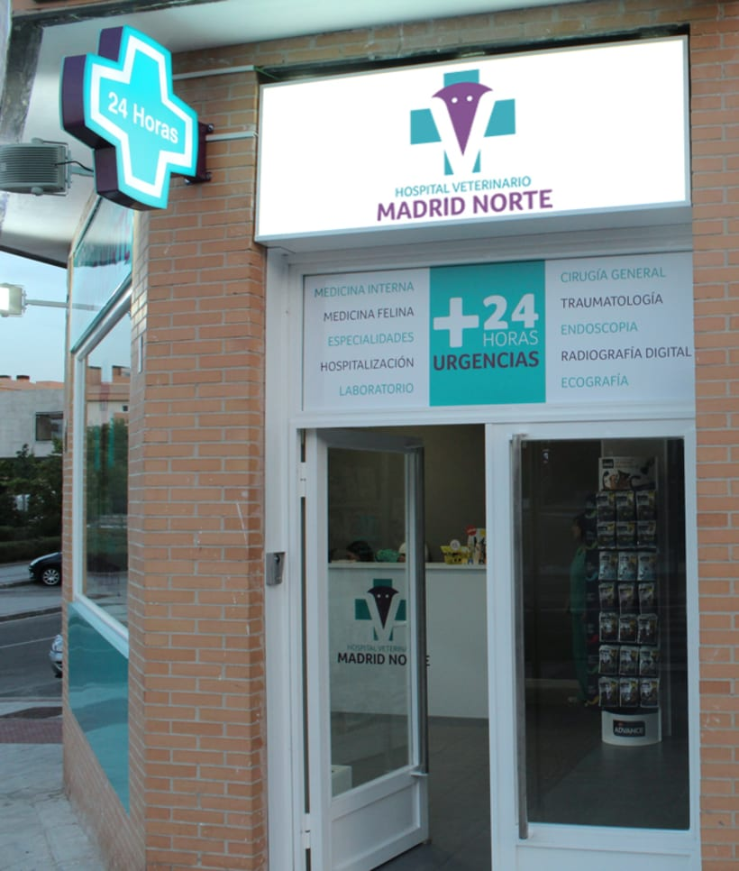 Hospital Veterinario Madrid Norte 1
