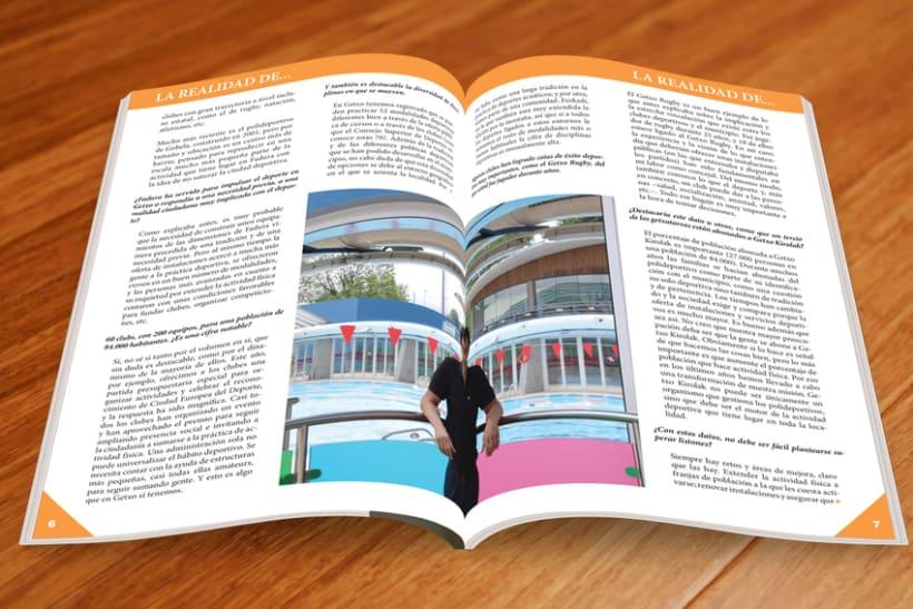 Maquetación Revista FAGDE 4