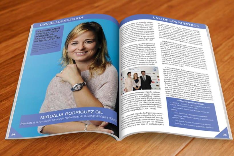 Maquetación Revista FAGDE 2