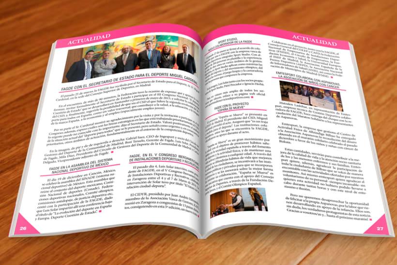 Maquetación Revista FAGDE 3