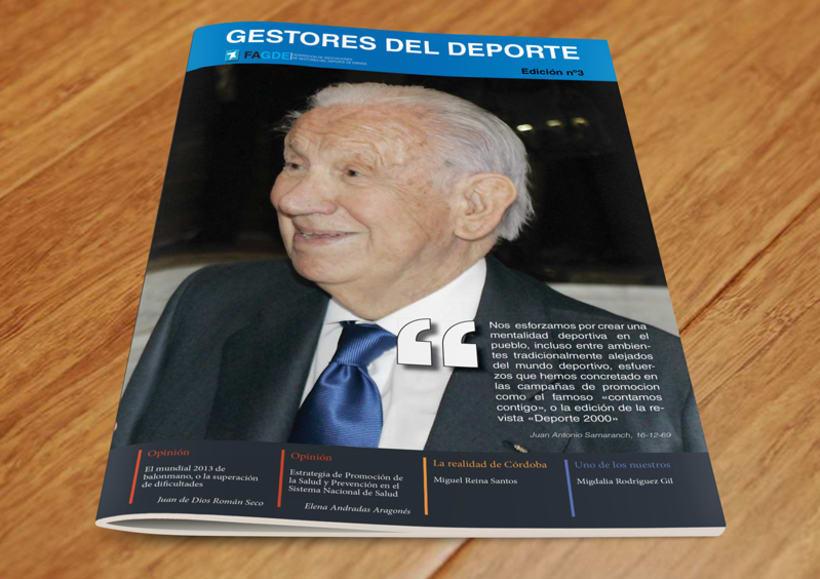 Maquetación Revista FAGDE 6