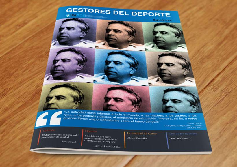 Maquetación Revista FAGDE 5