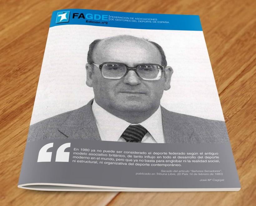Maquetación Revista FAGDE 7