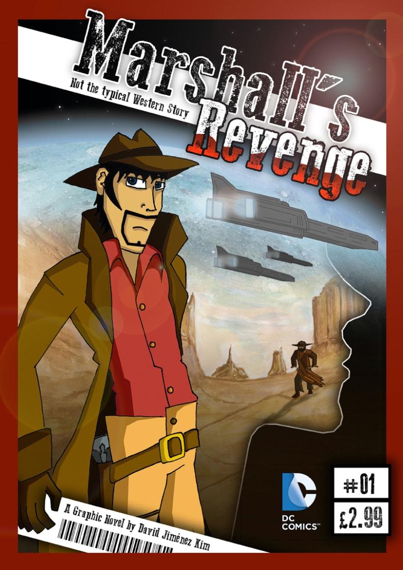 Graphic novel Marshall's Revenge 1
