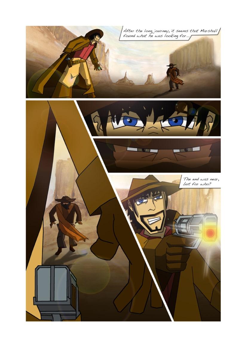 Graphic novel Marshall's Revenge 3