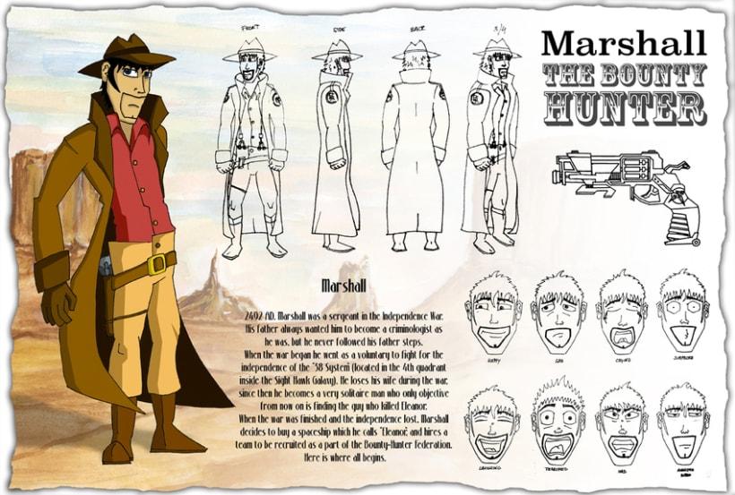 Graphic novel Marshall's Revenge 0