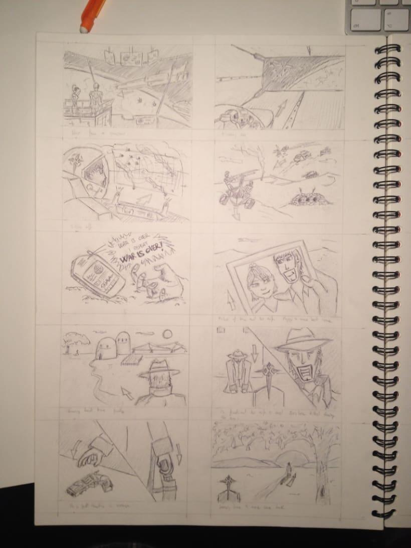 Graphic novel Marshall's Revenge 4