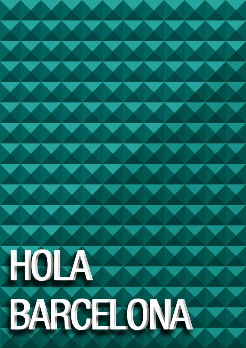 Hola Barcelona  -1