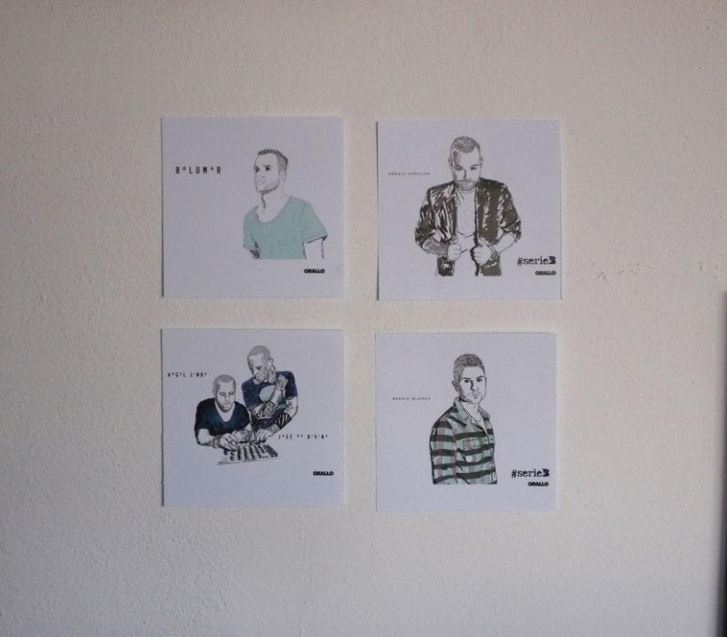 Retratos ( Ilustración digital, photoshop ) 3