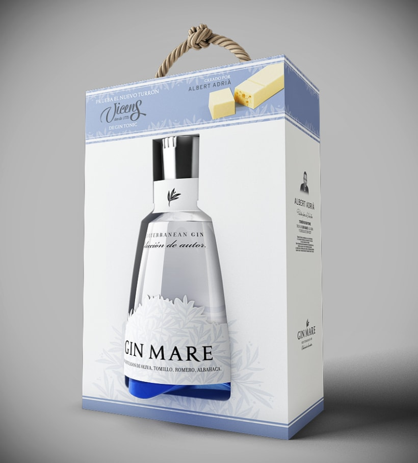Pack navidad Gin Mare 0