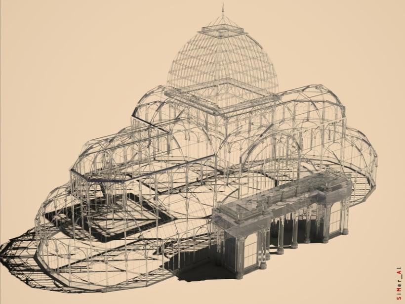 Serie 2_ Palacio de Cristal: Texturizados 1