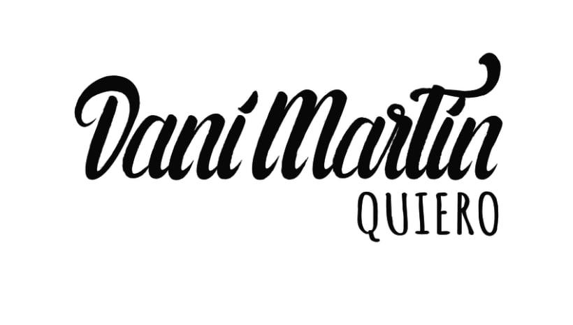 Mi Proyecto de caligrafía: Dani Martín 0