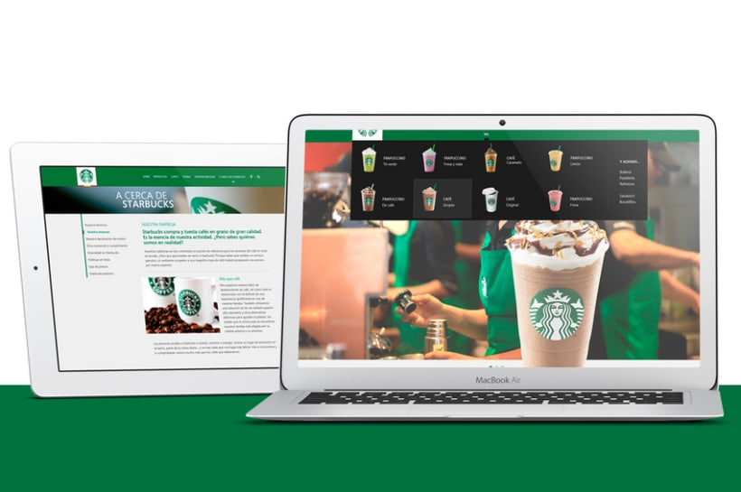 Starbucks Redesign 1