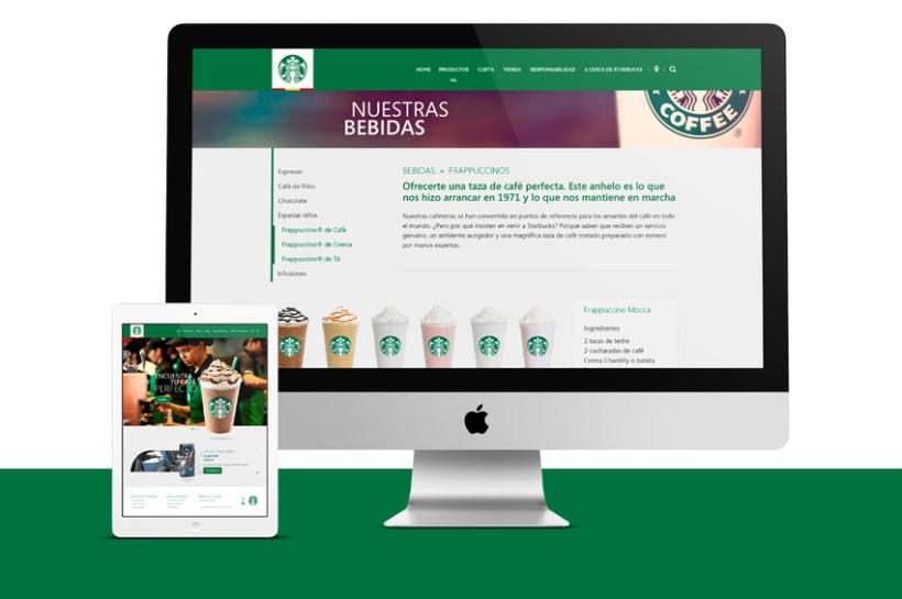 Starbucks Redesign 2