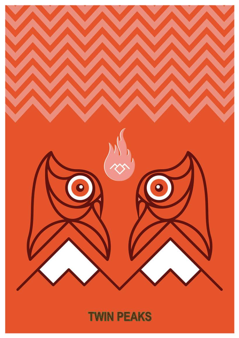 Twin Peaks Bob Owl 0