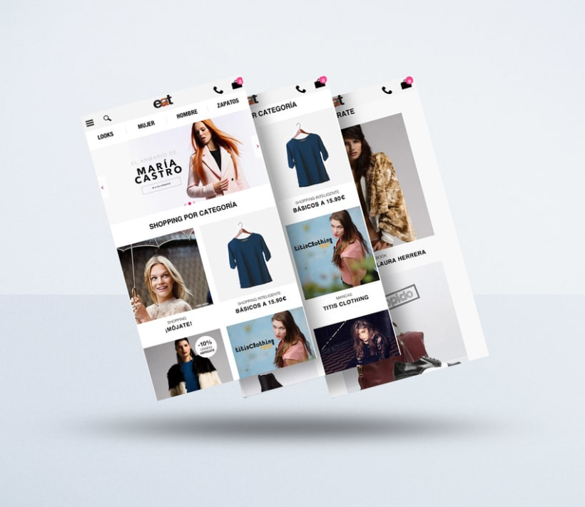 Diseño web www.elarmariodelatele.com 1