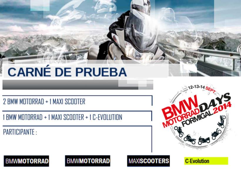 Acreditaciónes coporativas BMW Motorrad 0