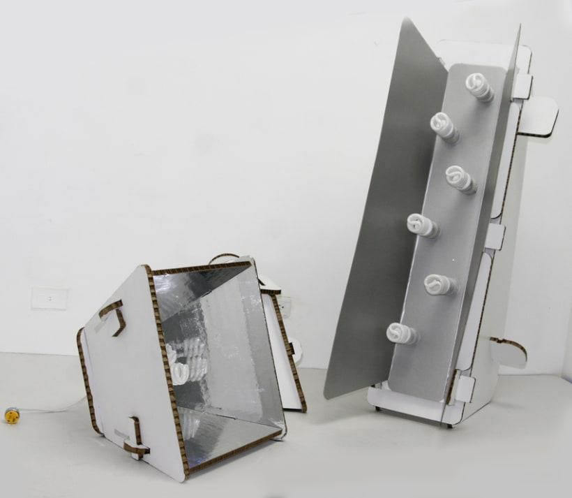DIY Cardboard Light Studio Kit 1